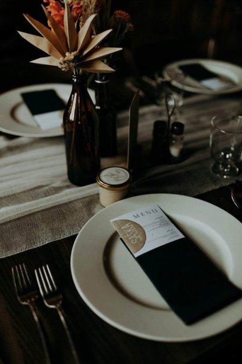 svadobne menovky na stol diy